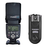 Flash Yongnuo Yn 560iv Con Rf 603ii C Para Canon
