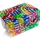 Dados Didactico #4 O 1.5 Cm De Colores 100 Piezas