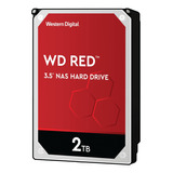 Disco Duro Interno Western Digital Wd Red Wd20efrx 2tb Rojo