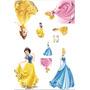 Kit Display Princesas Disney 8 Peças, Mdf 3mm Original