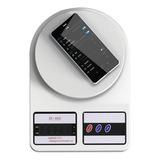 Balanza Digital Inteligente De Cocina 1-10kg