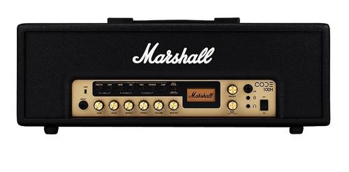 Amplificador De Guitarra Marshall Code100h Bt Y Usb 100w