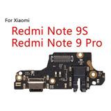 Repuesto Board De Carga Para Xiaomi Redmi 9s/note 9 Pro