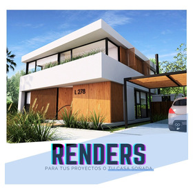 Render 3d, Arquitecto, Proyecto, Planos, Diseño Construccion