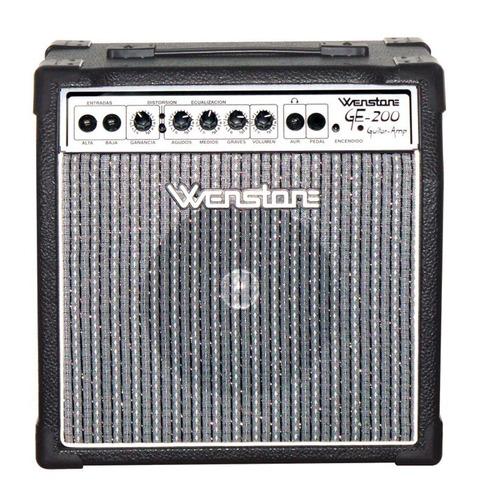 Amplificador De Guitarra Wenstone Ge-200fx 20w Fx Digital