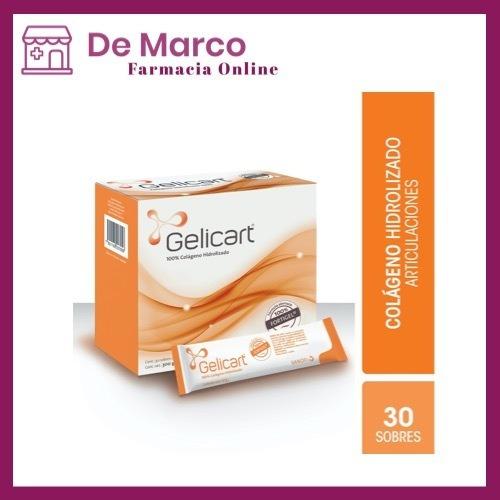 Gelicart Sanofi 30 Sobres Con 10g C/u | Colágeno Hidrolizado