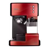Cafetera Oster Primalatte Bvstem6601 Automática Roja Expreso 110v