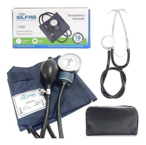Tensiómetro Silfab Adulto C/estetoscopio 18 Meses Garantia