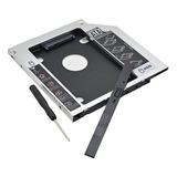Caddy Disk Sata 2,5 Notebook 2do Disco Hdd 12,7mm Envio