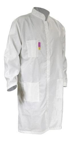 Bata Antiestática Blanca -clase 1000- Marca Jyrsa *stk-5000*