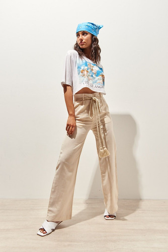 Pantalon Dexter Tiro Medio Mujer 47street