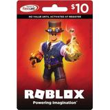 Tarjeta Roblox $10 Para Comprar 800 Robux, Entrega Inmediata