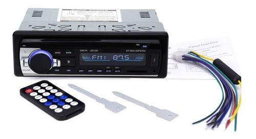 Autoestéreo Bluetooth Jsd-520 Fm Usb Potencia 60w X4 Aux