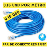 Cable Utp Internet Por Metro Cat5e Redes Cctv