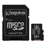 Tarjeta De Memoria Kingston Sdcs2sp Canvas Select Plus Con Adaptador Sd 128gb