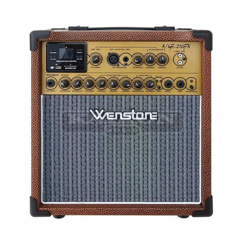 Multi Amplificador Wenstone Age258 Fx 25 Watts