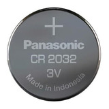 5 Pilas Cr2032 Panasonic 3v Litio P/ Luces Alarmas