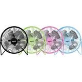 Mini Ventilador Usb Colores Escritorio Apto 220v Pc Rosa