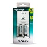 Cargador Sony Aa/aaa + 2 Pilas Aaa 900mh Recargable,obelisco