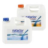 Combo Mantenimiento Clarificador + Alguicida X 5l Nataclor