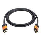 Cable Hdmi 8k 60hz/4k 120hz/48gbps V2.1 De 2mts. Premium Oro