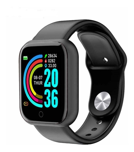 Reloj Inteligente Y68 Smartwatch Sensor Ritmo Cardíaco