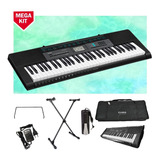 Kit Teclado Casio Ctk-2550 Musical 5/8 Completo Com Pedal