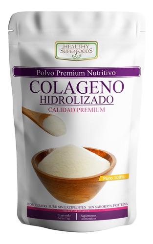 Colágeno Hidrolizado Puro 1kg  100 Porciones Envió Gratis