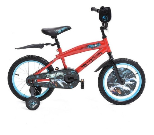 Bicicleta Hot Wheels Niño Rin16, Segura, Liviana, Fácil Uso