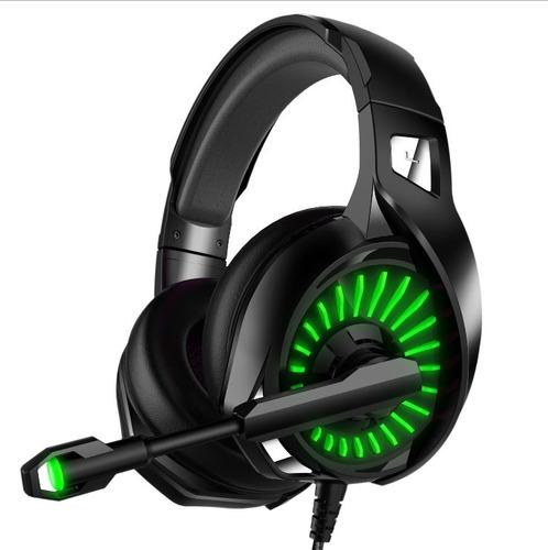 Audífonos Gamer Diadema Led Con Micrófono Usb Xbox Switch Ps