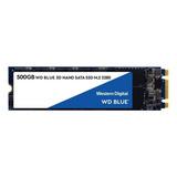 Disco Sólido Ssd Interno Western Digital  Wds500g2b0b 500gb Azul