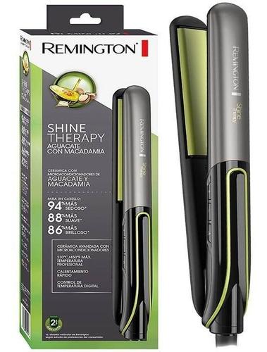 Plancha Remington Aguacate + Vitamina E Original