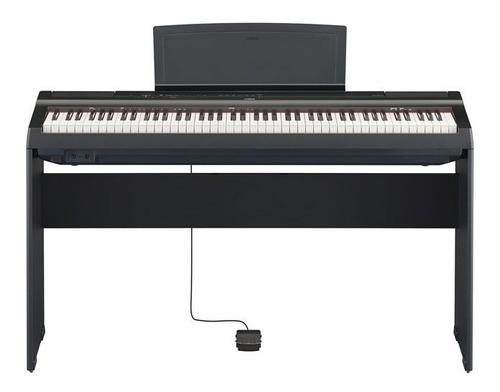 Piano Yamaha P125 Precio Combo Mueble + Pedal +usb Citimusic