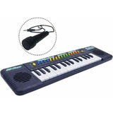 Organo Musical Infantil C/microfono Instrumento Musical 32t
