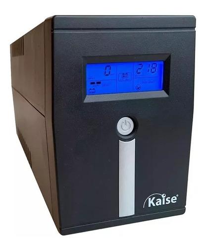 Ups Estabilizador Kaise 800va Display Lcd 4 Salidas Modem