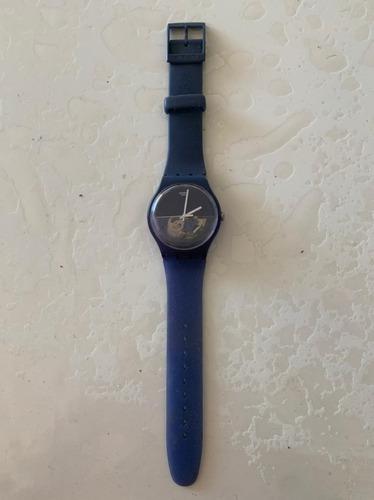 Reloj Swatch Azul Usado (sin Funcionar)