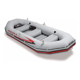 Bote Gomón Inflable Intex 68376 Mariner 4 Personas Set