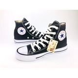 Converse All Star Para Adulto Color Negro En Bota
