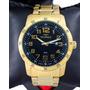 Relógio Technos Masculino Dourado  Performer Racer Original