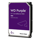 Disco Duro Interno Western Digital Wd Purple Wd60purz 6tb Púrpura
