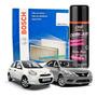 Filtro Cabine Ar Condicionado March Versa + Spray Higienizador Original