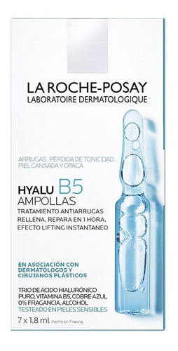 La Roche Posay Hyalu B5 Ampollas Antiedad Ácido Hialurónico