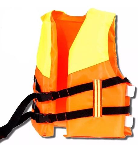 Chaleco Flotador Salvavidas Ajustable P/ Niño Y Niña El Rey