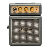 Amplificador Marshall Micro Amp Ms-2 Combo Transistor 1w Gris Oscuro