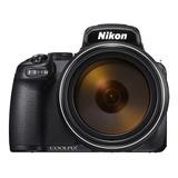 Nikon Coolpix P1000 Compacta Avanzada Color  Negro