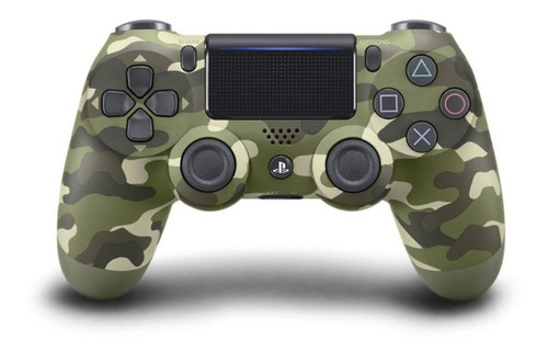 Control Dualshock Ps4 Camouflage Oem