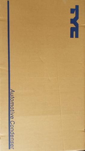 Condensador Radiador Aire Acondicionado Optra Tyc C/botella Foto 2