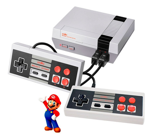 Consola Family Retro Nes Av Tv 500 Juegos Clasicos De 8 Bits Incorporados Garantia