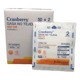 Gasa Estéril 5x5- Caja 50 Unidades  Cranberry
