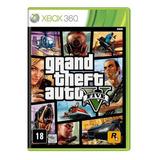 Grand Theft Auto V Standard Edition Rockstar Games Xbox 360  Físico